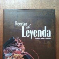 Libros de segunda mano: RECETAS DE LEYENDA, LAS MEJORES RECETAS DE LA HISTORIA, MIKEL CORCUERA, 2004. Lote 174177660