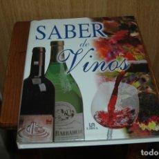 Libros de segunda mano: SABER DE VINOS . Lote 174208078