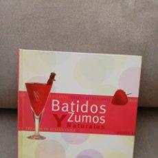 Libros de segunda mano: BATIDOS Y ZUMOS NATURALES - TIKAL - SUSAETA EDICIONES - EL ARTE DE VIVIR. Lote 174414582