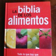 Libri di seconda mano: LA BIBLIA DE LOS ALIMENTOS - ED. GLOBUS. Lote 174427800