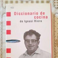 Libros de segunda mano: DICCIONARIO DE COCINA DE IGNASI RIERA. Lote 175016037