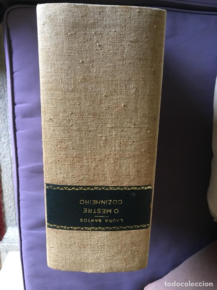 Libros de segunda mano: Libro cocina o mestre cozinheiro Laura santos - Foto 2 - 175049532