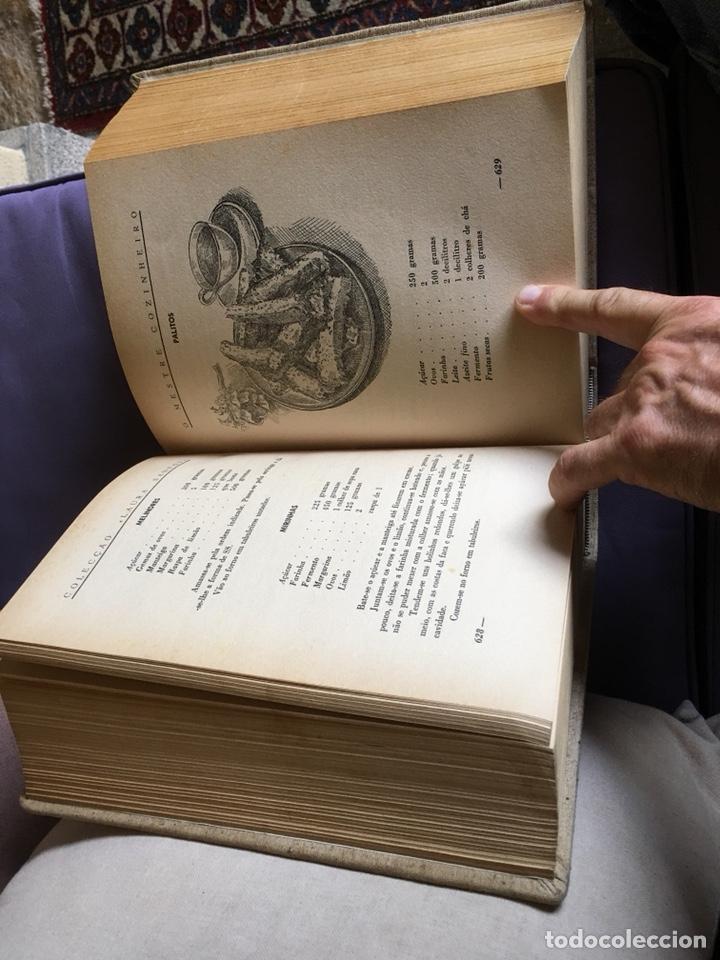 Libros de segunda mano: Libro cocina o mestre cozinheiro Laura santos - Foto 5 - 175049532