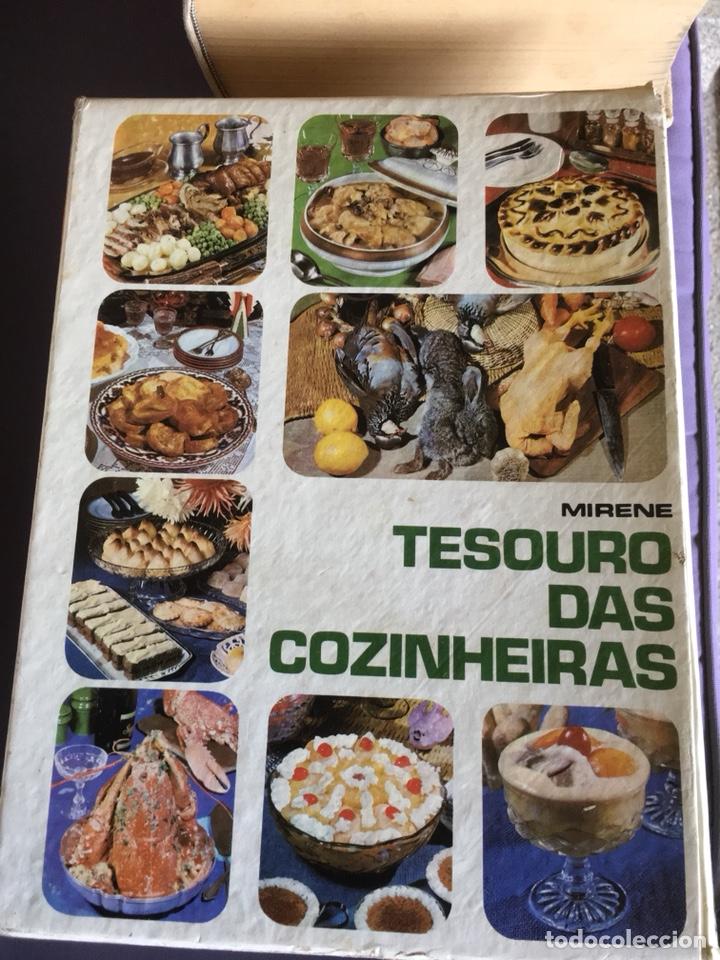 LIBRO COCINA TESOURO DAS COZINHEIRAS MIRENE (Libros de Segunda Mano - Cocina y Gastronomía)