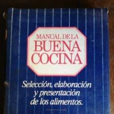 Libros de segunda mano: MANUAL DE LA BUENA COCINA - ED. FOLIO. Lote 175113700