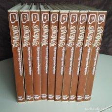Libros de segunda mano: ENCICLOPEDIA PRÁCTICA DE LA COCINA DE HOY.TUS MENÚS.10 VOLÚMENES. IDEA MUJER. 1986. Lote 175251485