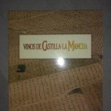 Libros de segunda mano: VINOS DE CASTILLA LA MANCHA. JCCM. 1987. Lote 175871673