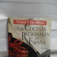 Libros de segunda mano: LAS COCINAS REGIONALES DE ESPAÑA - NÉSTOR Y TIN LUJÁN, 1991. Lote 175873613