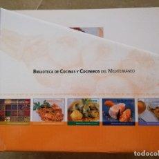 Libros de segunda mano: BIBLIOTECA DE COCINAS Y COCINEROS DEL MEDITERRÁNEO (COLECCIÓN COMPLETA). Lote 175892628