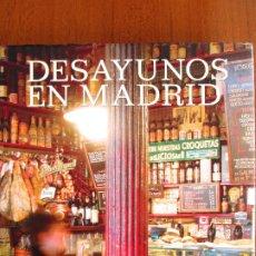 Libros de segunda mano: DESAYUNOS EN MADRID - SARA CUCALA. Lote 175960452
