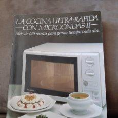 Libros de segunda mano: LIBRO LA COCINA ULTRA-RÁPIDA CON MICROONDAS II DE MOULINEX. Lote 176483245