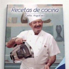 Libros de segunda mano: RECETAS DE COCINA. KARLOS ARGUIÑANO. EDICIÓN PATROCINADA POR BRITA (WATER TECHNOLOGY). Lote 176657778