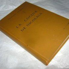 Libros de segunda mano: LA COCINA DE NICOLASA. 11 EDIC... Lote 176666830