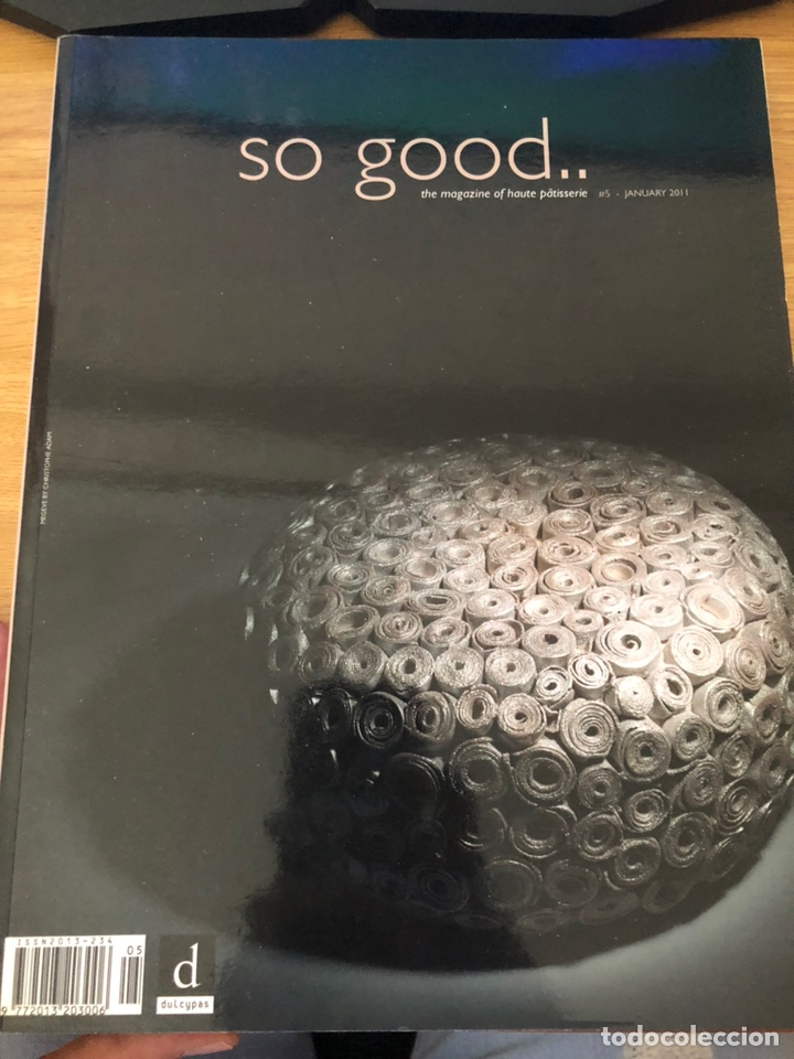 SO GOOD NÚMERO 5. 2011. RECETAS PASTELERÍA MODERNA (Libros de Segunda Mano - Cocina y Gastronomía)