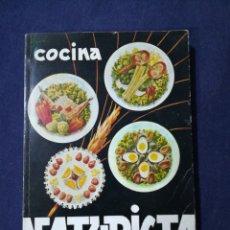 Libros de segunda mano: COCINA NATURISTA - DOMINGO BELLSOLA - NATURISMO. Lote 177207147