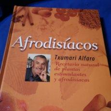 Libros de segunda mano: AFRODISÍACOS. T. ALFARO. Lote 177680197