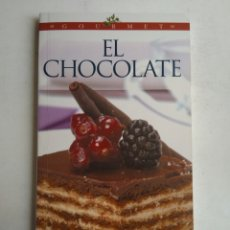 Livres d'occasion: EL CHOCOLATE/GOURMET. Lote 177710344