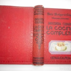 Livres d'occasion: MARIA MESTAYER DE ECHEGÜE(MARQUESA DE PARABERE) LA COCINA COMPLETA Y96208. Lote 212719443