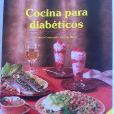 Libros de segunda mano: LIBRO DE COCINA PARA DIABETICOS. Lote 179115533
