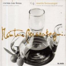 Libros de segunda mano: VESIV LIBRO COCINA CON FIRMA Nº4 MARTIN BERASATEGUI. Lote 179213231