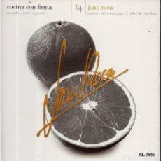 Libros de segunda mano: VESIV LIBRO COCINA CON FIRMA Nº14 JOAN ROCA. Lote 179217122