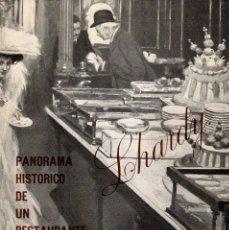 Libros de segunda mano: LHARDY. PANORAMA HISTÓRICO DE UN RESTAURANTE ROMÁNTICO, 1839-1978 / JOSÉ ALTABELLA. Lote 179227305