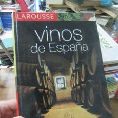 Libros de segunda mano: VINOS DE ESPAÑA, LAROUSSE. ART.548-343. Lote 180097993