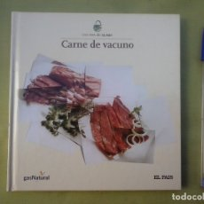 Libros de segunda mano: LIBRO Nº 9 COCINA DE EL PAIS. CARNE DE VACUNO. AÑO 2006. Lote 180391336