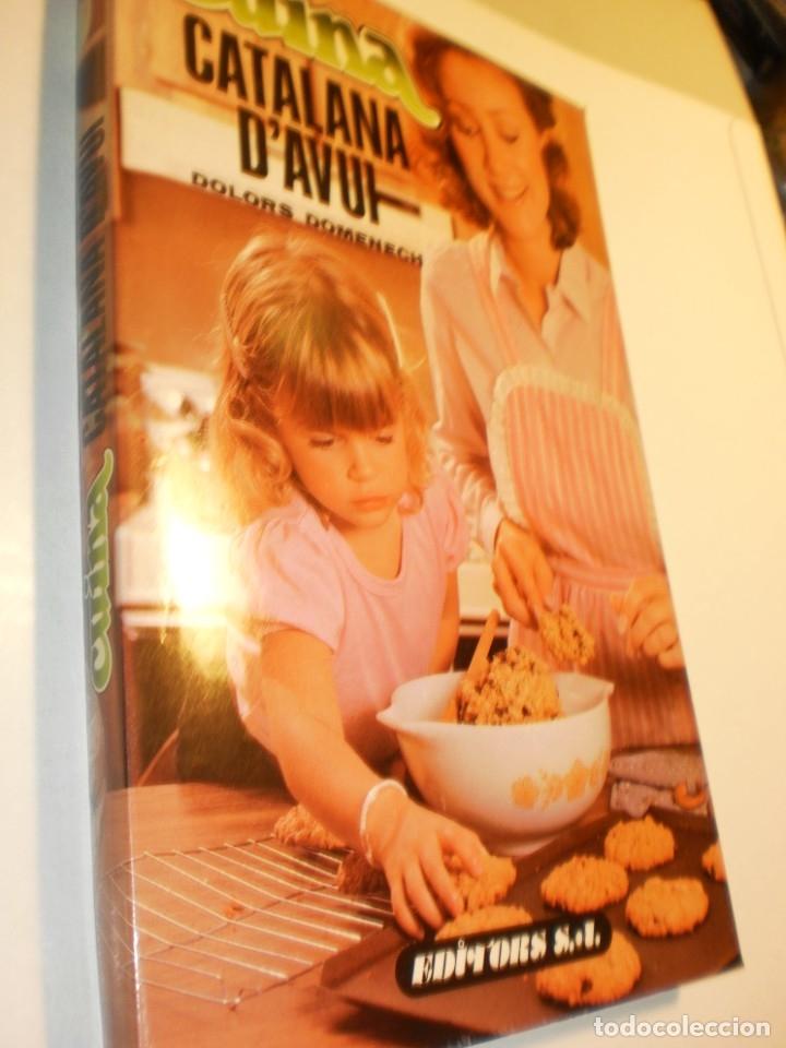 DOLORS DOMÈNECH. CUINA CATALANA D'AVUI. EDITORS 1989 208 PÀG A COLOR (SEMINOU) (Libros de Segunda Mano - Cocina y Gastronomía)