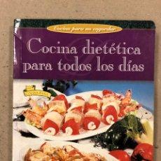 Libros de segunda mano: COCINA DIETÉTICA PARA TODOS LOS DÍAS. COCINA PARA NO ENGORDAR. SUSAETA EDICIONES. ILUSTRADO. Lote 180427600