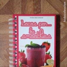 Libros de segunda mano: LOCOS POR LOS SMOOTHIES. Lote 180439850
