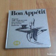 Libros de segunda mano: BON APPÉTIT -- LIBRO VADEMECUM DEL CONDIMENTO DE LA COCINA MODERNA -- AMC ESPAÑA. Lote 180447350