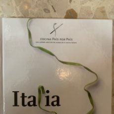 Libros de segunda mano: COCINA PAÍS POR PAÍS ITALIA. Lote 180859587