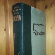 Libros de segunda mano: ENCICLOPEDIA DE LA COCINA, LUIGI CARNACINA, EDITORIAL VERGARA, 1963. Lote 181091361