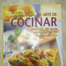Libros de segunda mano: LIBRO EL ARTE DE COCINAR. Lote 181399641