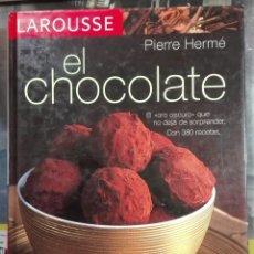Libros de segunda mano: PIERRE HERMÉ. EL CHOCOLATE. 2007. Lote 182332861
