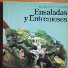 Libros de segunda mano: ENSALADAS Y ENTREMESES. Lote 182344403