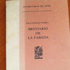 Libros de segunda mano: BREVIARIO DE LA FABADA. Lote 182344923