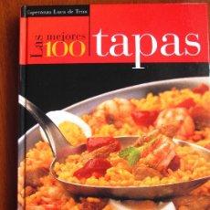 Libros de segunda mano: LAS CIEN MEJORES TAPAS - ESPERANZA LUCA DE TENA. Lote 182965666