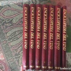 Libros de segunda mano: ENCICLOPEDIA DEL VINO. 7 TOMOS. COMPLETA.. Lote 183045907