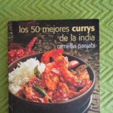 Libros de segunda mano: LIBRO LOS 50 MEJORES CURRYS DE LA INDIA. Lote 183387880