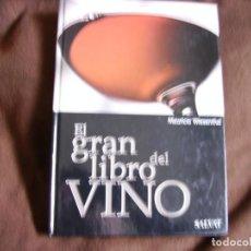 Libros de segunda mano: EL GRAN LIBRO DEL VINO. Lote 183390728