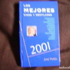 Libros de segunda mano: LOS MEJORES VINOS DESTILADOS 2001. Lote 183392623