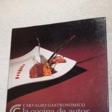 Libros de segunda mano: COCINA DE AUTOR, MANUEL VAZQUEZ MONTALBÁN. Lote 203236761