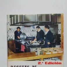 Libros de segunda mano: RECETAS DE 200 COCINEROS DE SOCIEDADES VASCAS. - JOSÉ CASTILLO. TDK428. Lote 183718657