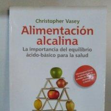 Libros de segunda mano: ALIMENTACIÓN ALCALINA.CHRISTOPHER VASEY. Lote 184165208