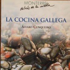 Libros de segunda mano: LA COCINA GALLEGA. ALVARO CUNQUEIRO. 2004. Lote 184479787