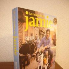 Libros de segunda mano: LAS ESCAPADAS DE JAMIE OLIVER: ESPAÑA, ITALIA, SUECIA, MARRUECOS, GRECIA, FRANCIA (RBA, 2010) RARO. Lote 186239416