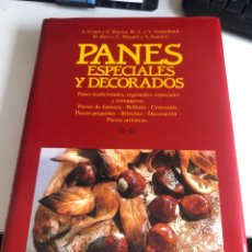 Libros de segunda mano: PANES ESPECIALES Y DECORADOS. Lote 186402228