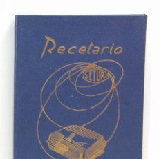 Libros de segunda mano: RECETARIO PARRILLA ELECTRICA SE-TUR - E. RONDISSONI. Lote 187224438